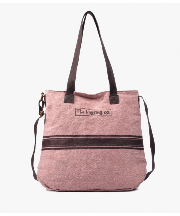 Bolso shopper de lona
